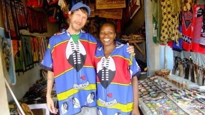 Touring Ezulwini Market in Swaziland, 2011