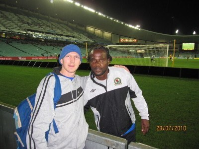 The night I met Blackburn Rovers and Senegal player El Hadji Diouf