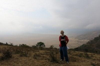 Touring Ngorongoro Crater in Tanzania, 2013