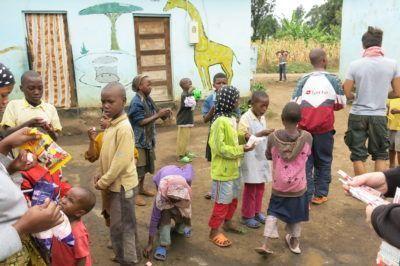 The kids at Kibowa