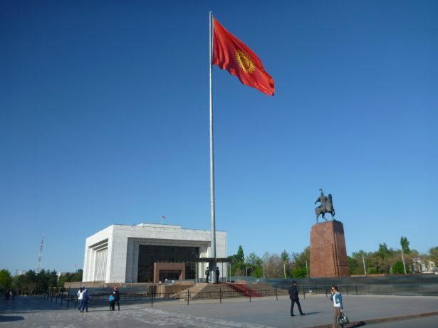 Backpacking in Kyrgyzstan: Ala too Square in Bishkek