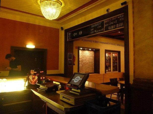 Bar One - Euro Youth Hostel Bar