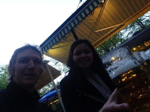 Augustiner Beer Garden