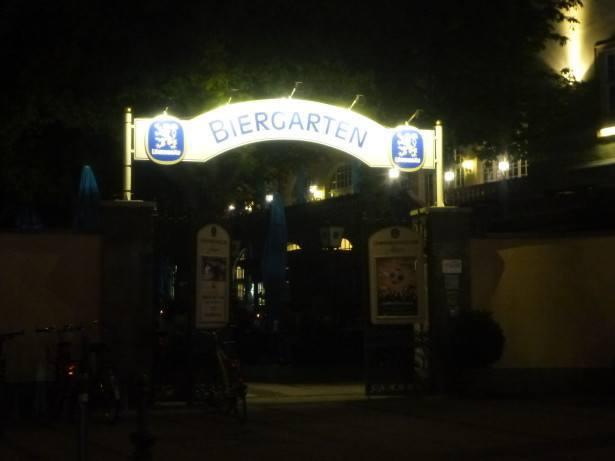 The Lowenbrau Beer Garden