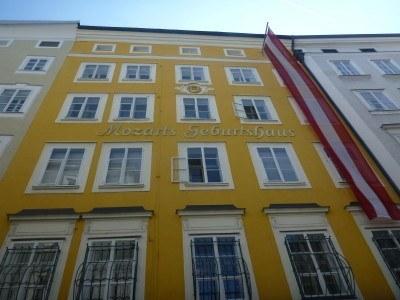 Mozart's Birthplace, Salzburg #visitsalzburg