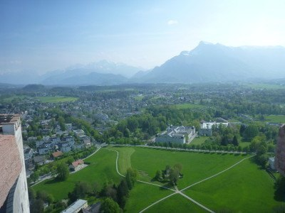 View from the top of Hohensalzburg Fortress,, Salzburg #visitsalzburg