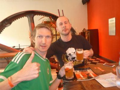 Beers at Stiegl-Brauwelt