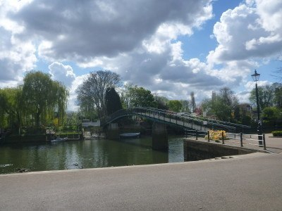 The Bridge to Eel Pie Island
