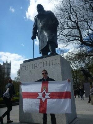 Winston Churchill Statue, Westminster