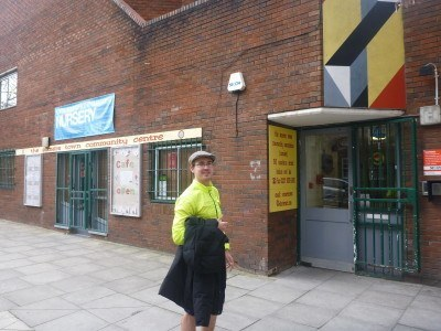 Neil at Somerstown Community Centre