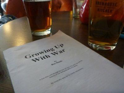 Ron's book - Growing up With War