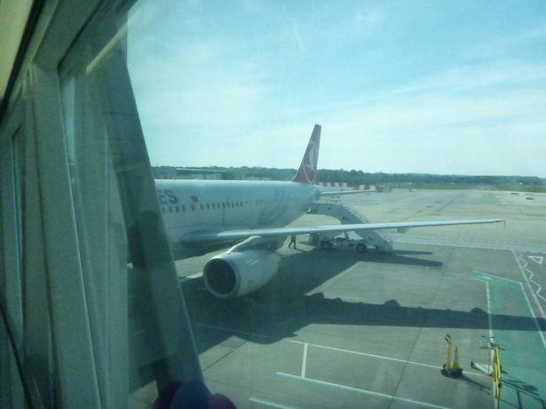 My plane to Turkey