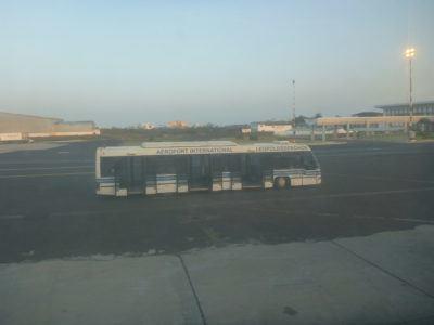 Arrival in Dakar