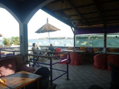 Bar at Maison Abaka Dakar Senegal