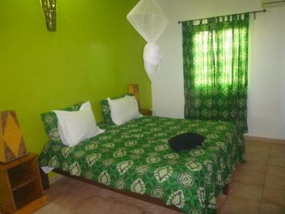 My cosy room at Maison Abaka