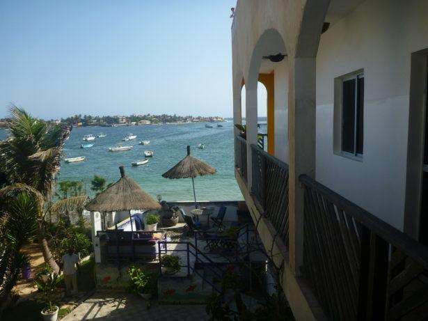 Staying at Maison Abaka, N'Gor Beach, Dakar, Senegal