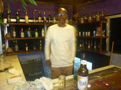 Balcony Bar at Maison Abaka Dakar Senegal