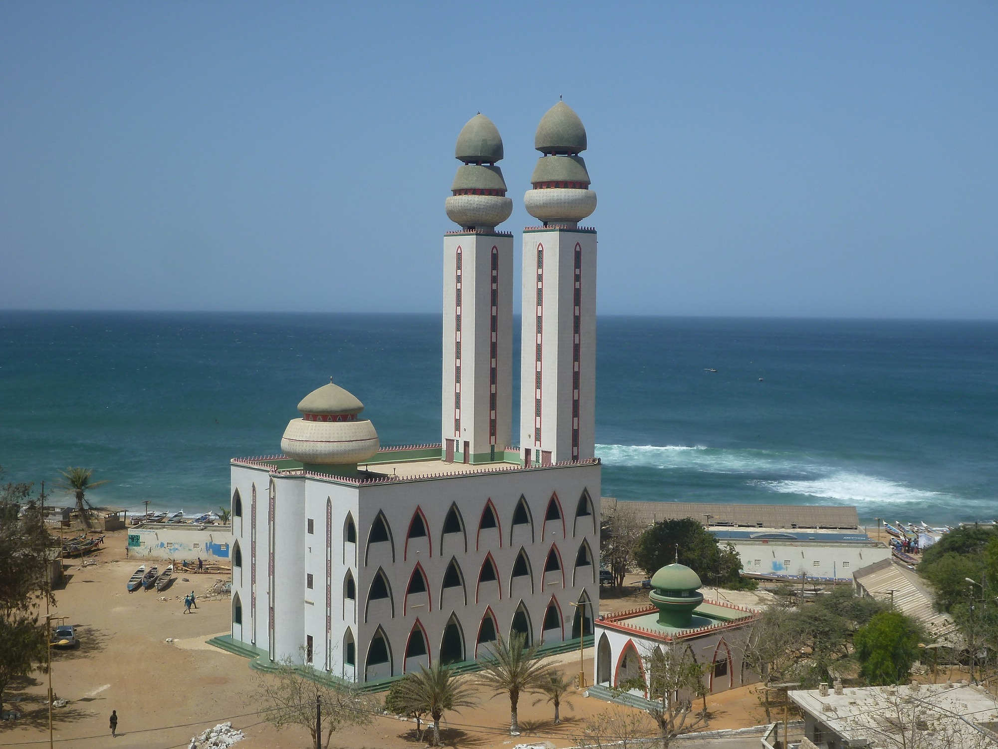 The Atlantic Mosque (Mosque of the Divinity) in Dakar, Senegal