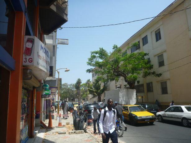 Downtown Dakar, Senegal