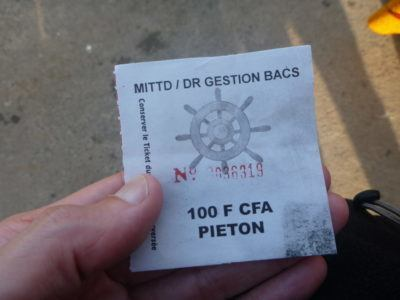 Ferry ticket