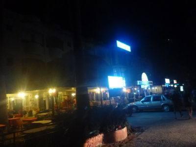 Getting the taxi in Banjul
