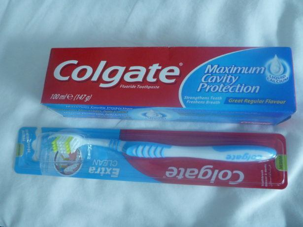 Toothbrush and toothpaste became essential