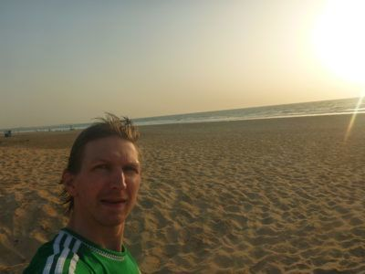 Chilling out in The Gambia