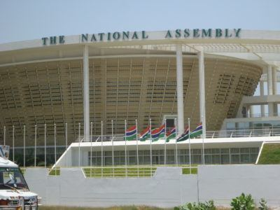 The National Assembly in Banjul, The Gambia