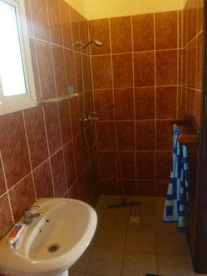 My bathroom at Banana Lodge