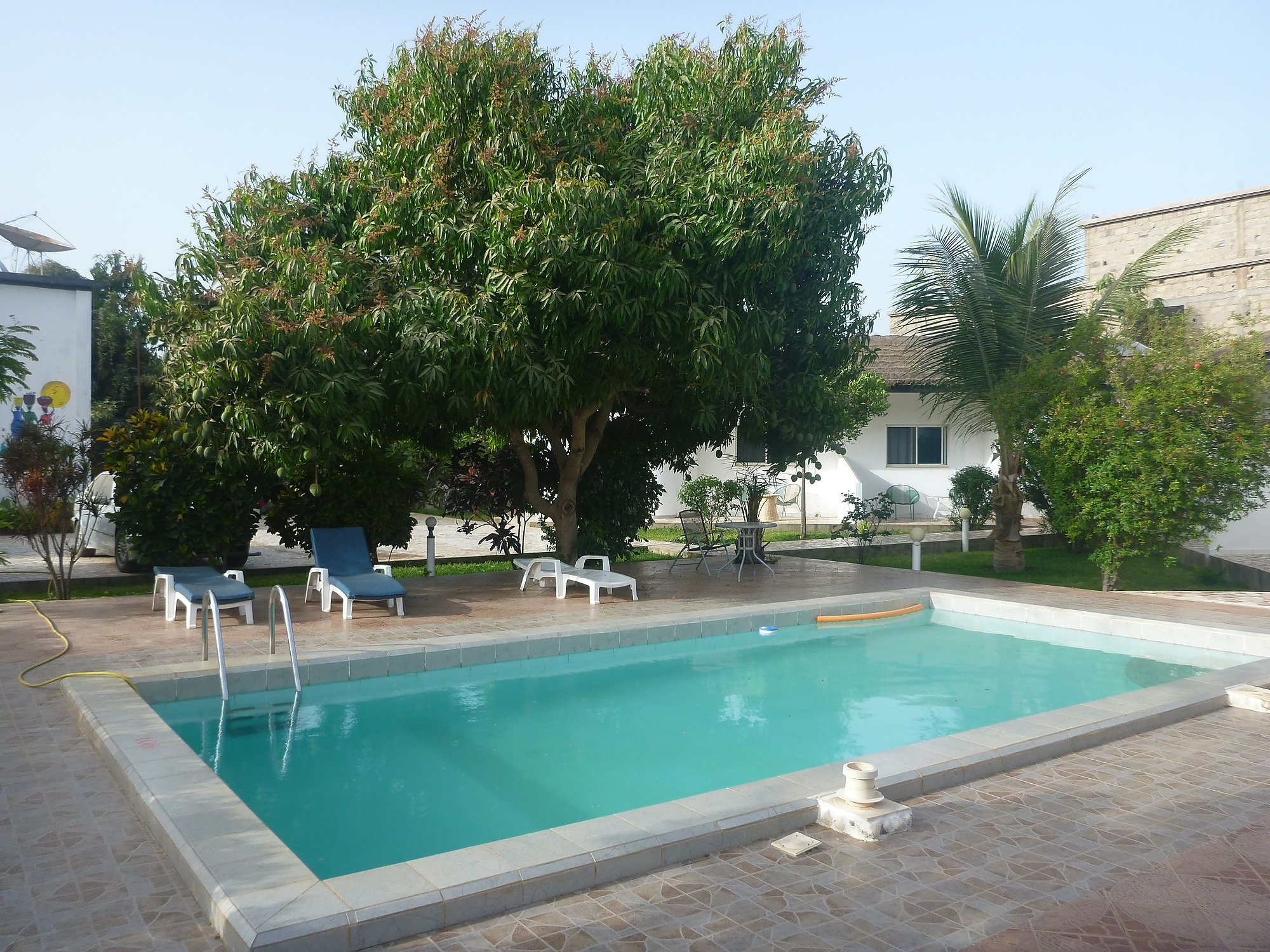 Staying at the Banana Lodge Apartments in Brufut Village, The Gambia