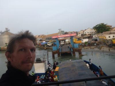 Getting the Banjul to Barra ferry