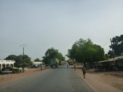 Senegal departure point