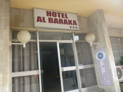 Staying at Hotel Baraka in Dowtown Dakar, Senegal