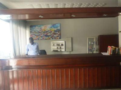 Staying at Hotel Baraka in Downtown Dakar, Senegal