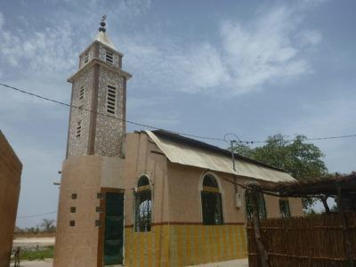 Mosque by Lac Rose, Senegal