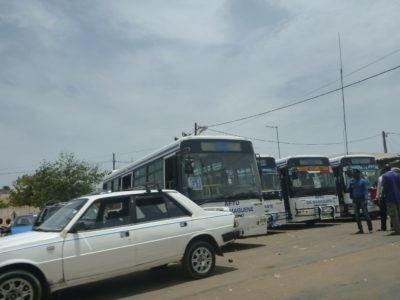 Buses in Keur Massar