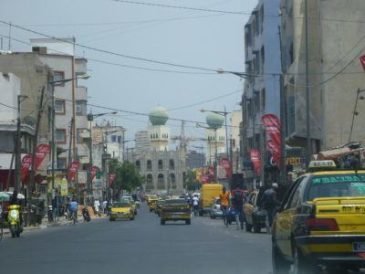 Manic streets of Dakar, Senegal