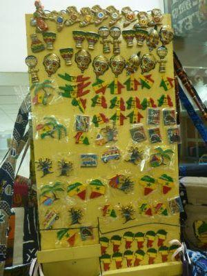 Senegalese souvenirs