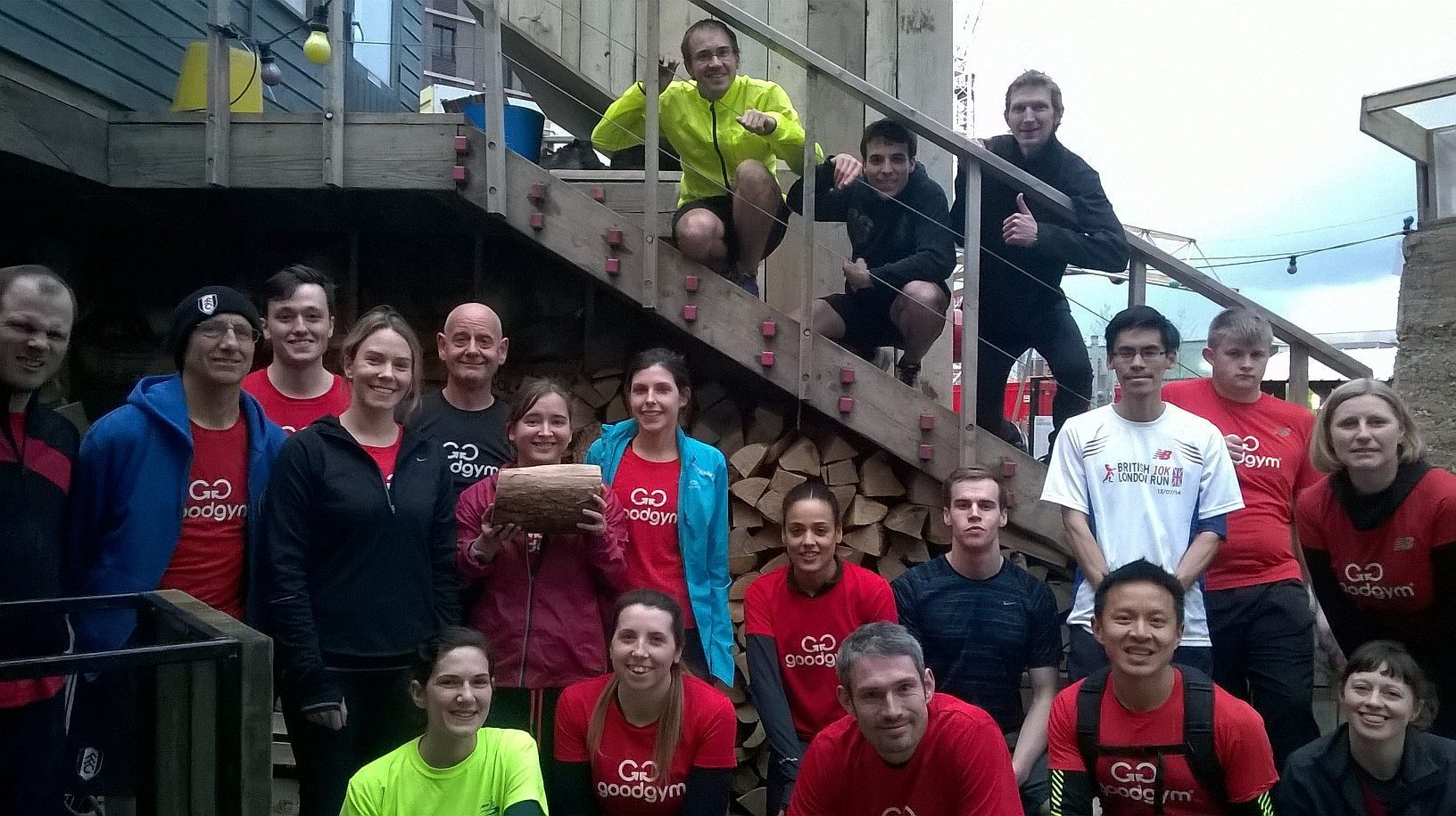 Working Wednesdays: Churning Compost with Good Gym at the Skip Garden, London, England
