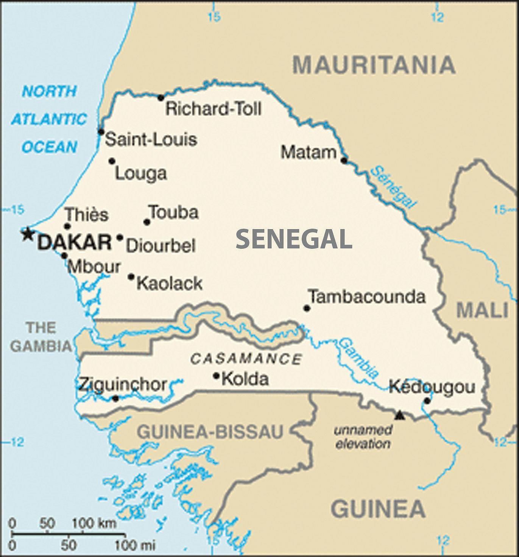 World Borders My Crazy Adventure from Dakar in Senegal to