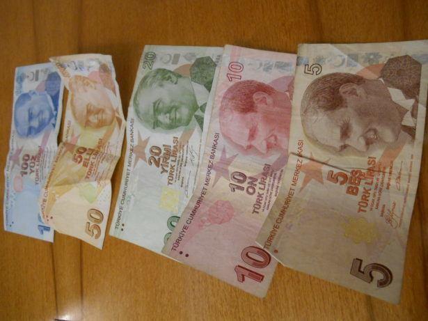 Turkish Lira left over