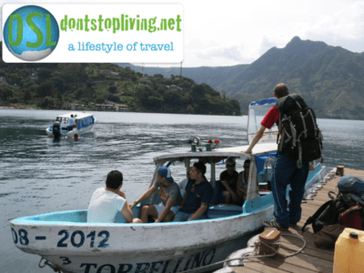 Let's get a boat through Guatemala