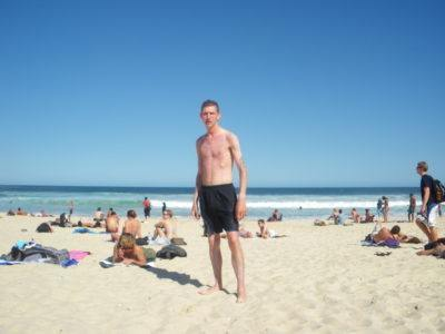 Me at Bondi Beach