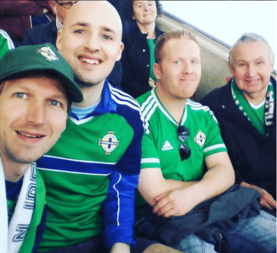 Northern Ireland 3-0 Belarus last week