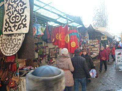 Osh Bazaar: backpacking in Bishkek, Kyrgyzstan