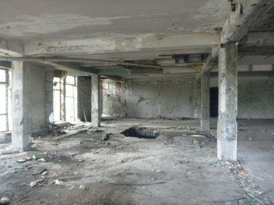 Abandoned casino in Bishkek