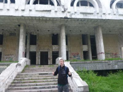 Abandoned casino in Bishkek