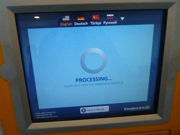 My transaction processing!