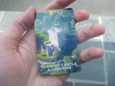 "My ""ticket"" for Blarney Castle and Gardens"