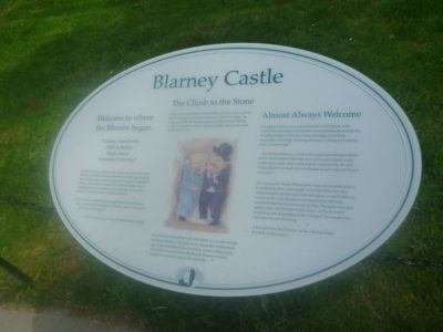 Information on the Blarney Stone